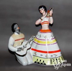 """Скульптура """"Испанский танец"""""""